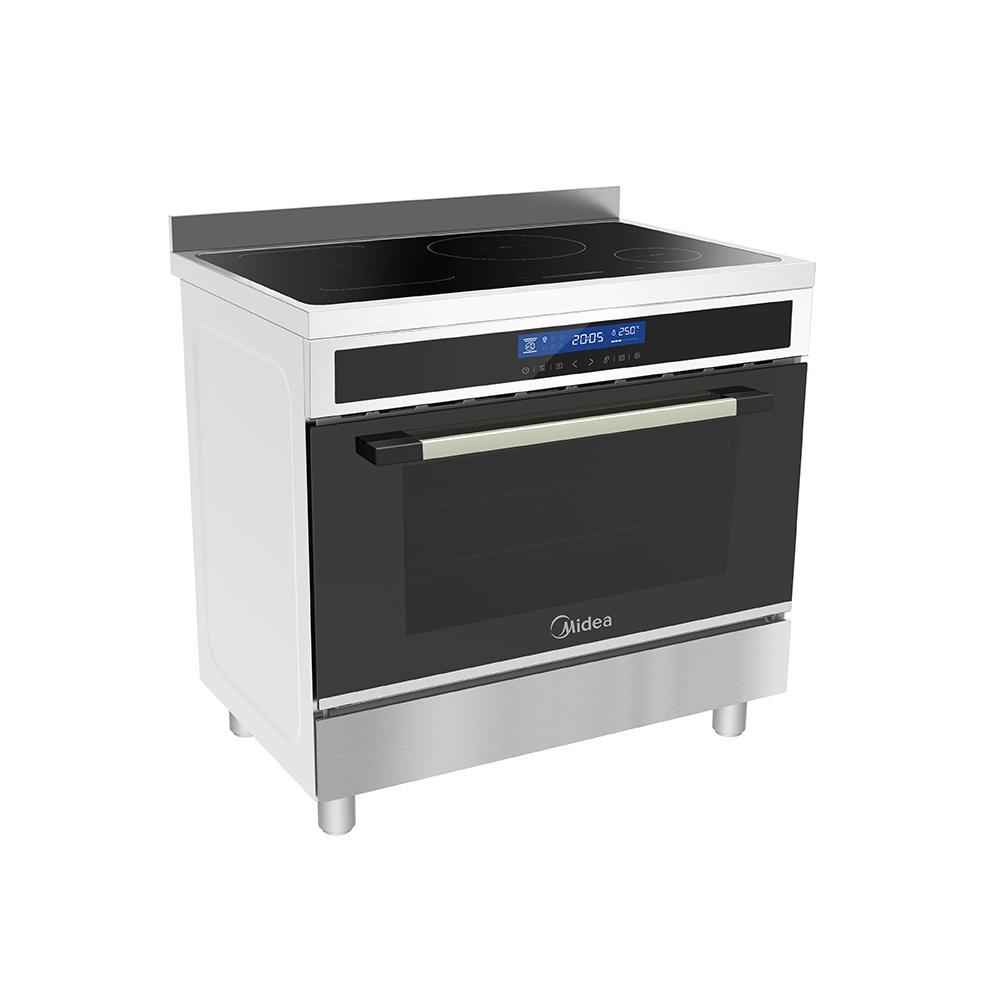 Midea MFS90ISS 90cm Freestanding cooker (Induction) - Latest Living