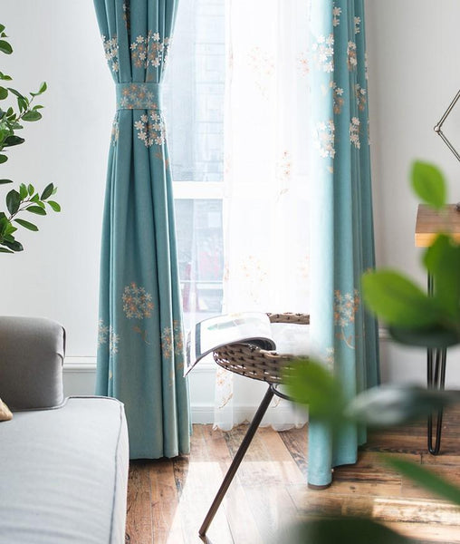 Lush 3D Decor Coriander Curtain - Latest Living