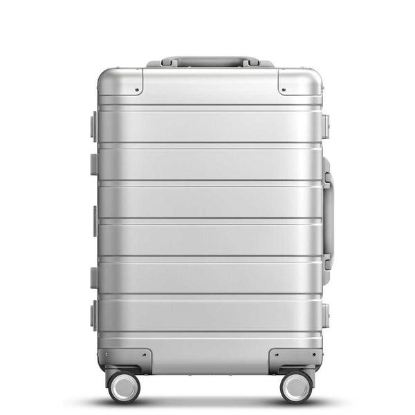 Xiaomi 20-inch Metal Travel Suitcase Universal Wheel - Silver