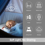 Yeelight Wireless Rechargeable Smart Induction LED Night Light Bedside Lamp - Latest Living