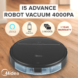 Midea i5 Robot Vacuum Cleaner Mop Alexa - Latest Living