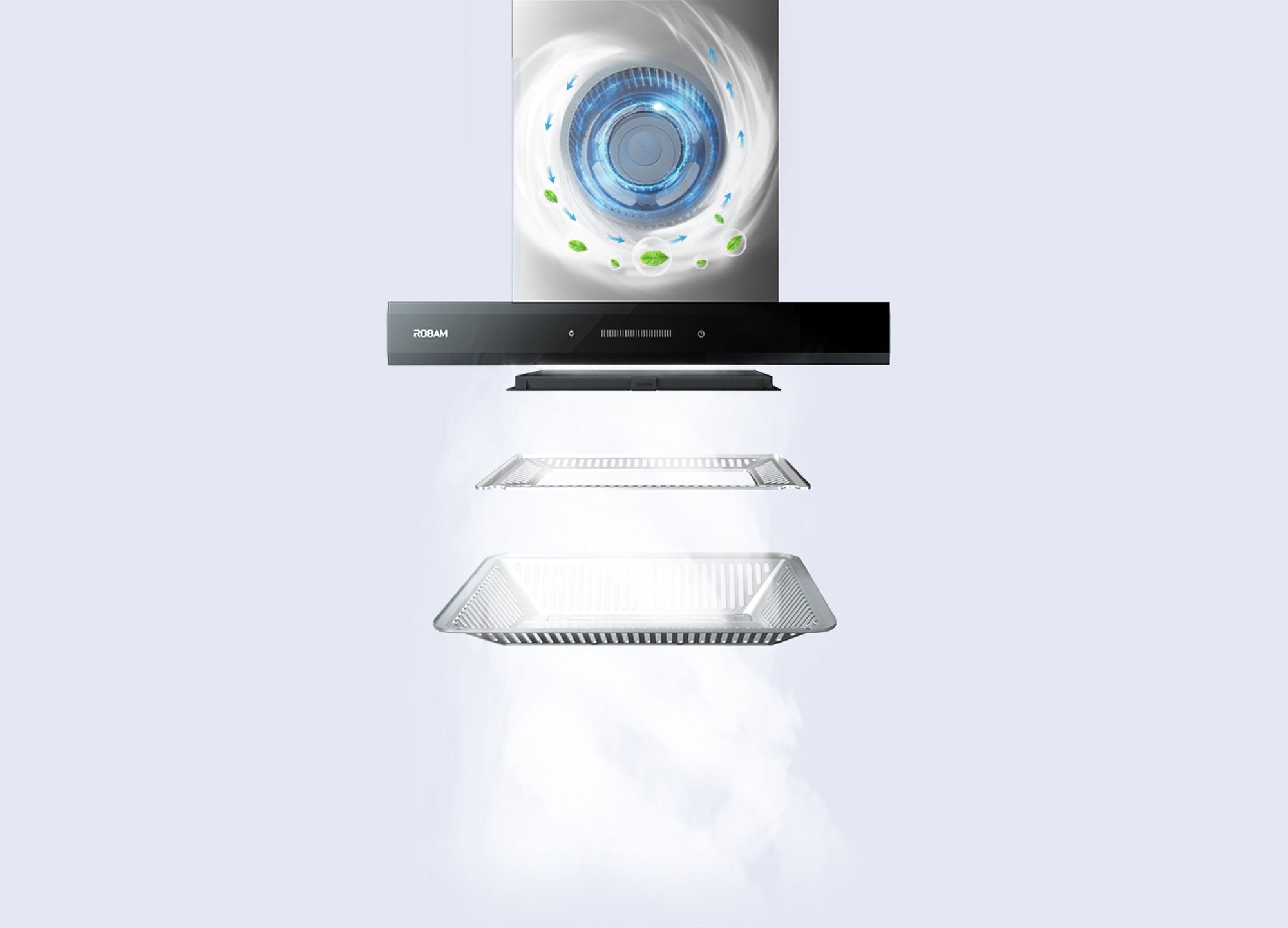 Robam Ninja A830 Latest Rangehood CXW-200-A830 - Latest Living