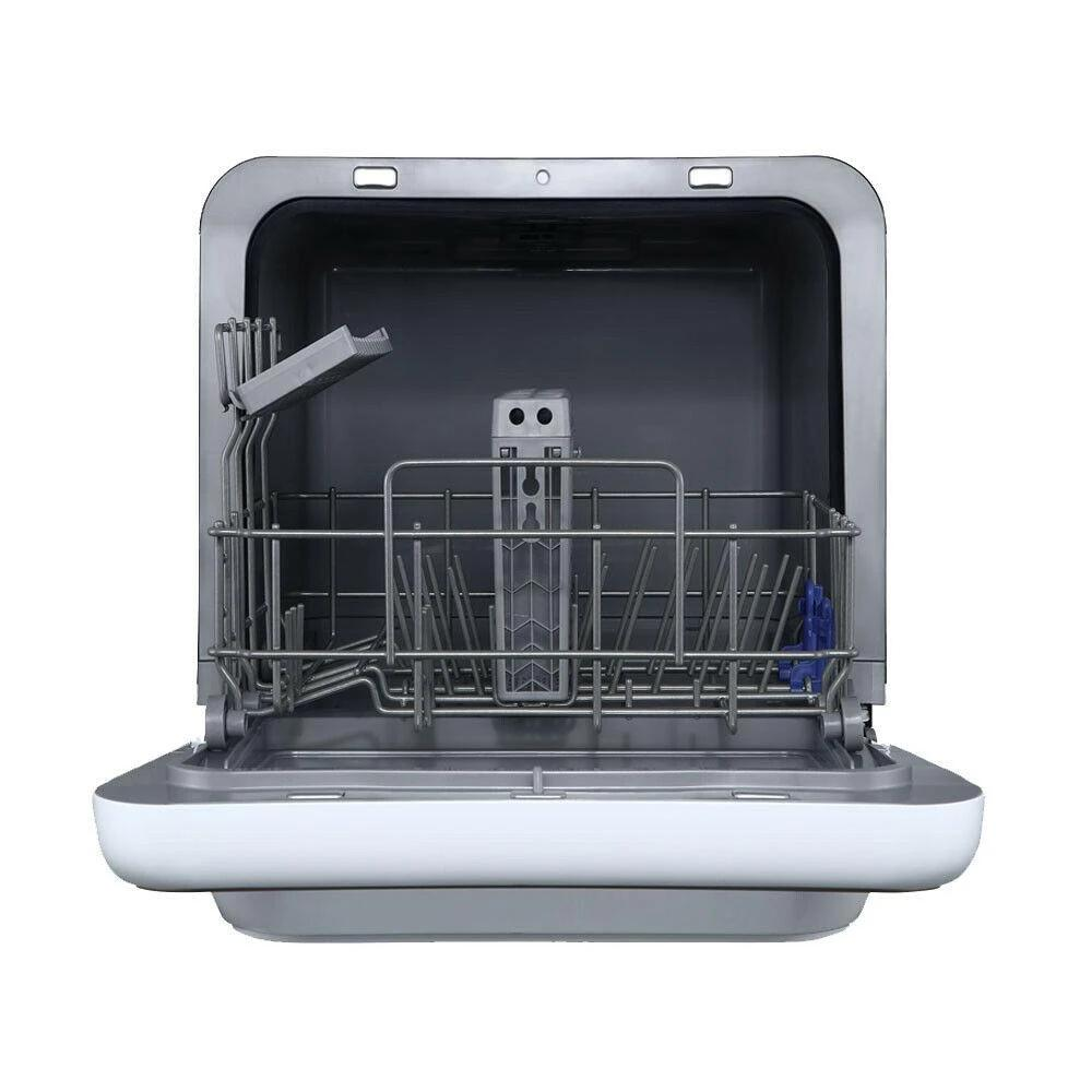 Midea Benchtop Multifunction Mini Portable Dishwasher Silver - Latest Living