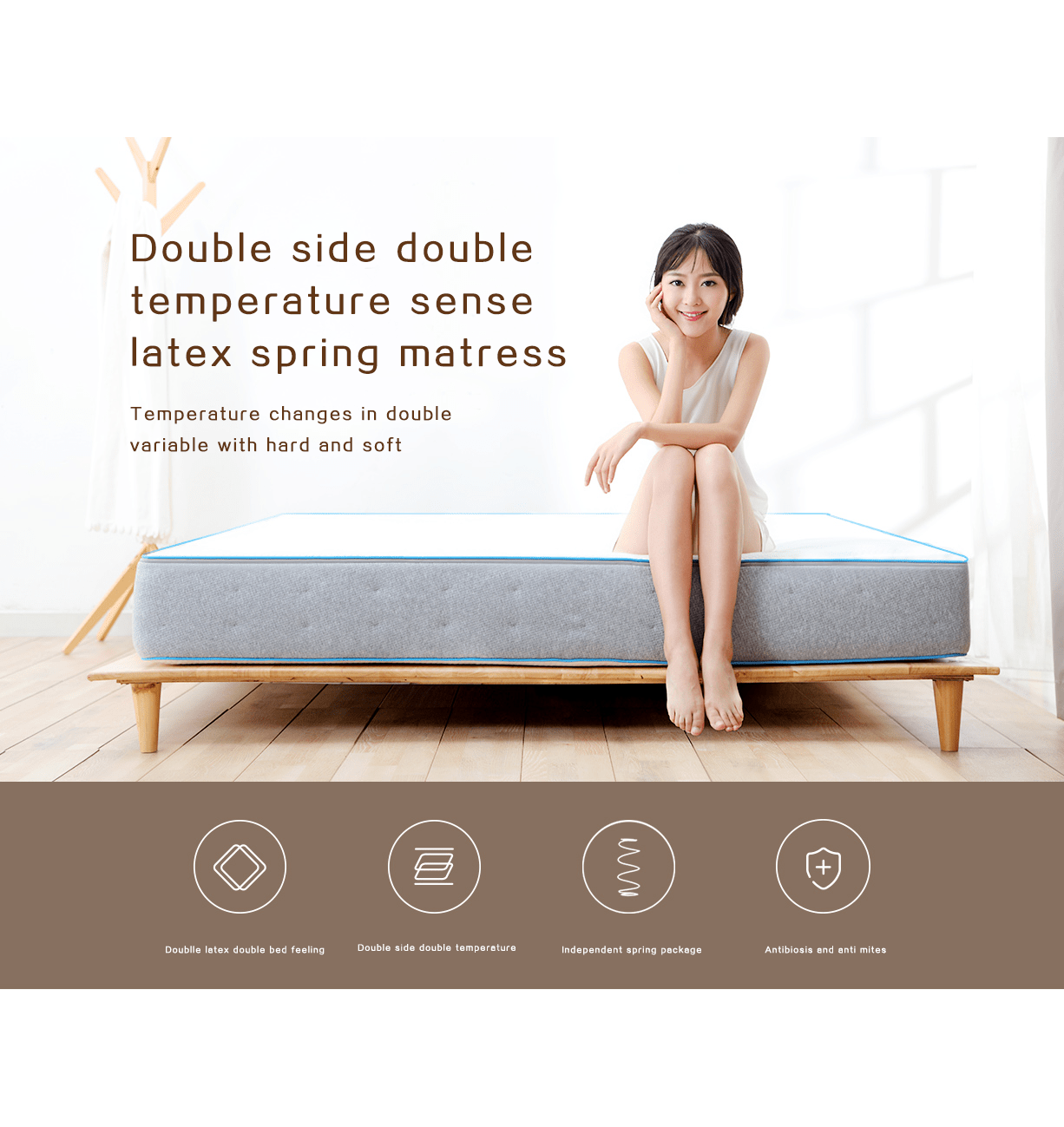 8H Double Sided Double Temperature M5 mattress - Latest Living