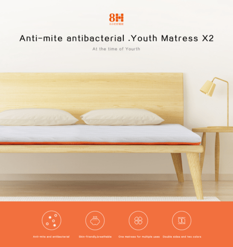 8H Youth mattress X2 mattress - Latest Living