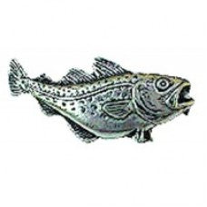 Pewter Cod Badge F5
