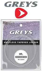 Greys Greylon Knotless Tapered Leaders