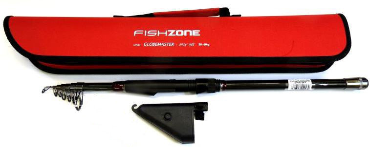 Fishzone Globemaster Carbon Telescopic 8ft Travel Rod