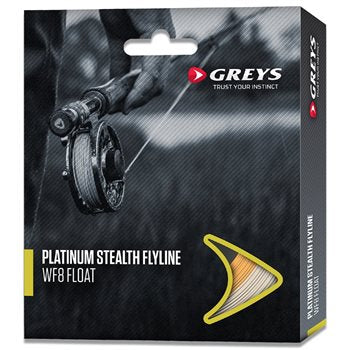 Greys Platinum Stealth Fly Line wf8 Floating