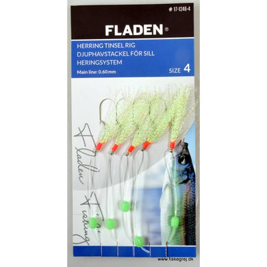 Fladen Lumi Green Tinsel Mackerel Rig