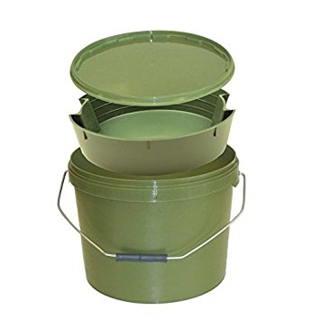 Lemco Bait Bucket With Inner Tray-Billy's Fishing Tackle