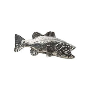 Pewter bass Badge F20