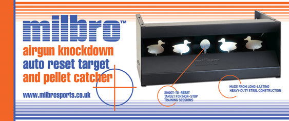 MILBRO DUCK RESET PELLET CATCHER