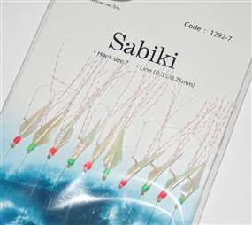 Fladen 10 Hook Fish Scale Sabiki Rig #1292-7