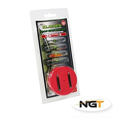 NGT drop shotting kit 5cm and 7g drop shot lure fishing set