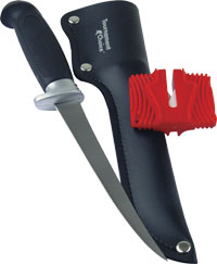 Mustad fillet knife with sharpener