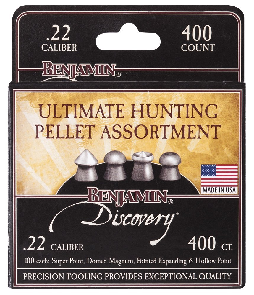 Crosman Benjamin Discovery Ultimate Hunting Pellet Assortment .22