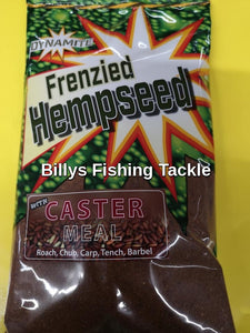 New Dynamite Baits Frenzied Hempseed Caster Worm Ground bait