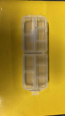 10 Compartment Box For Flies Swivels Etc