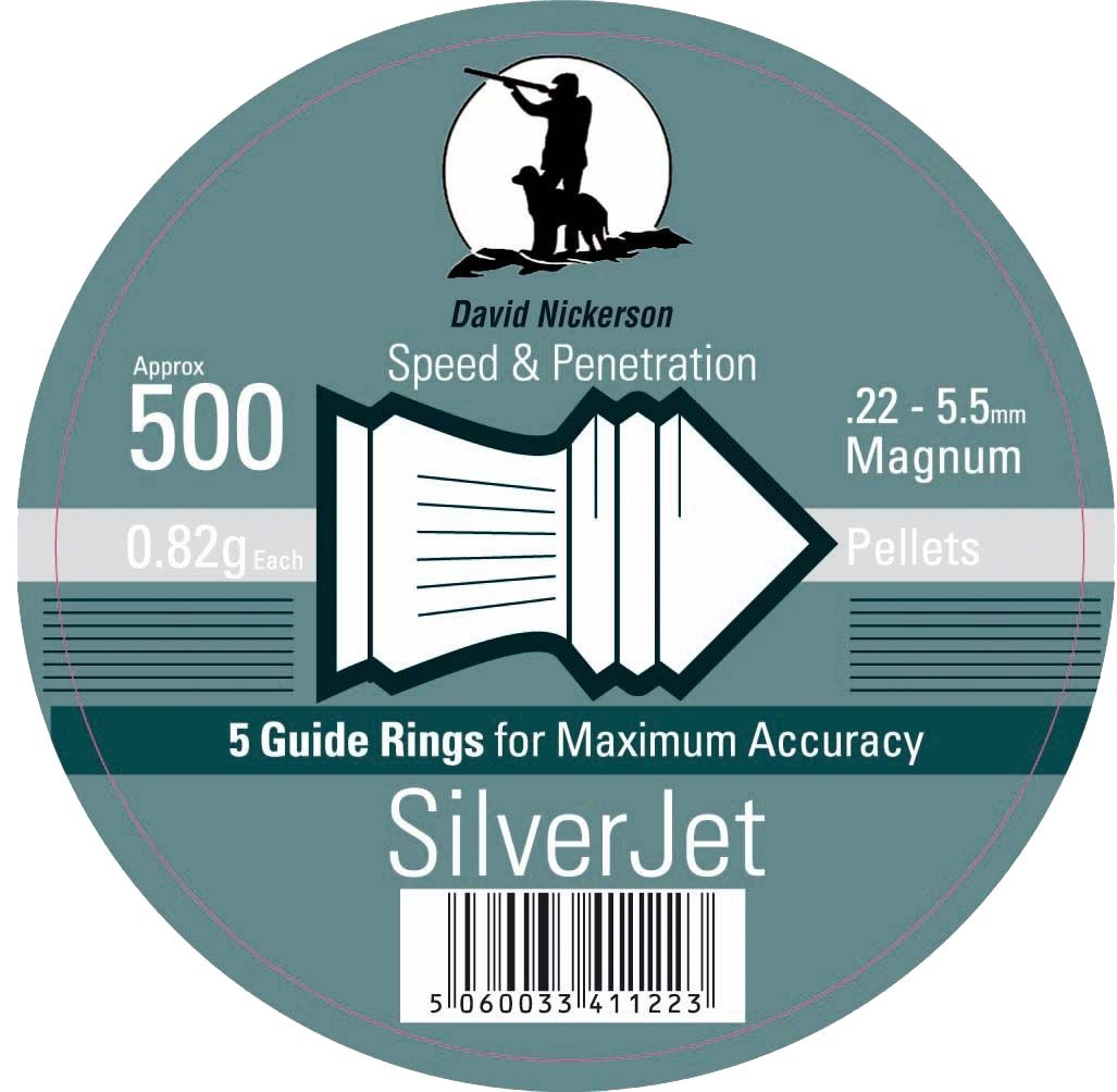 David Nickerson Silver Jet .22 Air Pellets