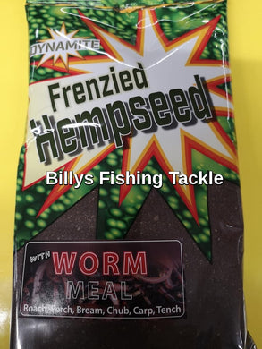 New Dynamite Baits Frenzied Hempseed Caster Worm Ground bait-Billy's Fishing Tackle