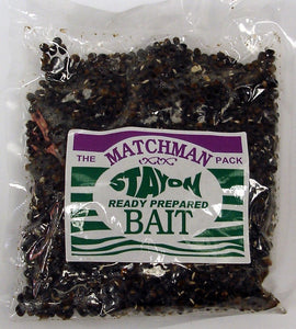 Matchman Stay On bait Aniseed Hemp & Particle Corn