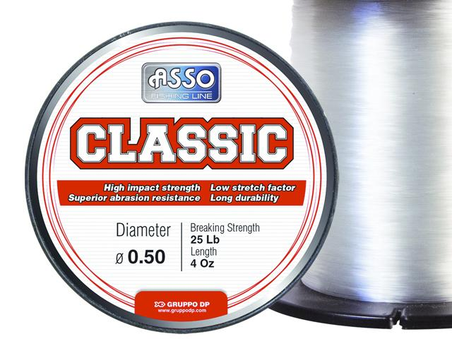 Asso Classic 1kg Bulk spool Sea fishing Line