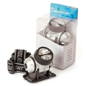 Tec Tackle Deluxe Head Lamp-Billy's Fishing Tackle