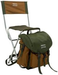 Shakespeare Deluxe Rucksack Chair - Brown/Green