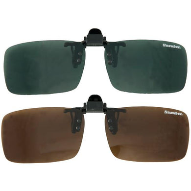 Snowbee clip- on sunglasses