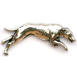 Pewter greyhound Badge D19
