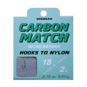 Drennan Carbon Match Hook To Nylons