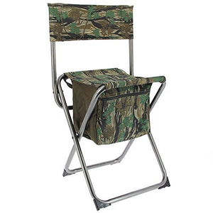 NGT Camo Quick Folding Stool with Storage Compartment-Billy's Fishing Tackle