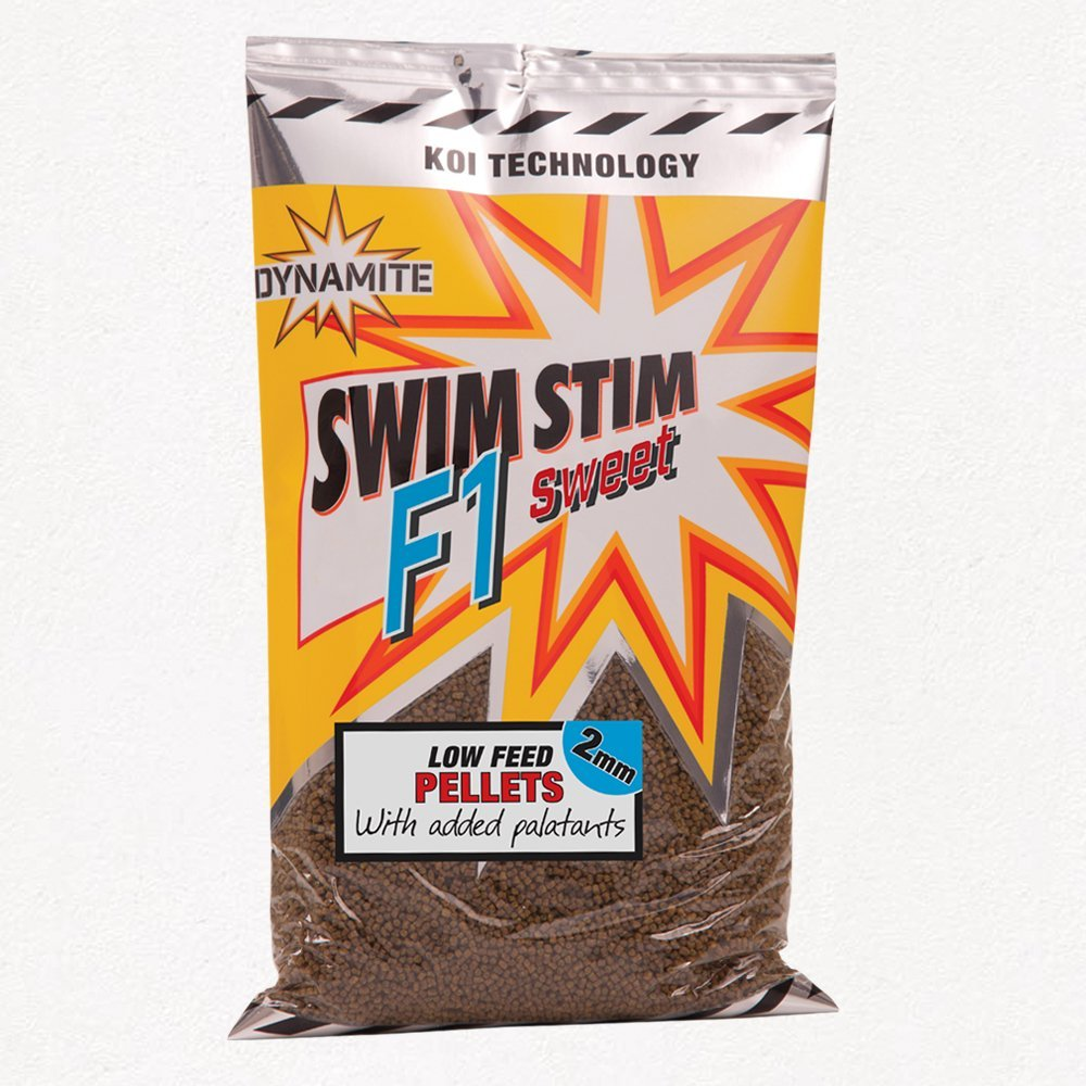 Dynamite Baits Swim Stim F1 Sweet low feed pellets 2mm 900g bag