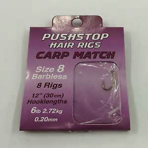 Drennan Carp Match Push Stop hair Rigs
