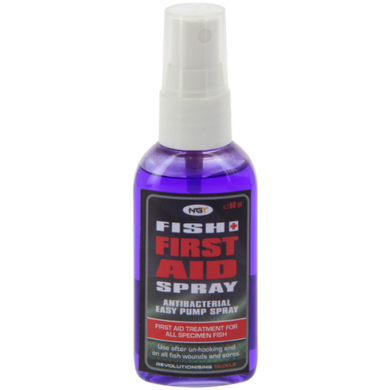 NGT CARP FISHING FISH AID SPRAY ANTISEPTIC ANTIBACTERIAL FIRST AID SPRAY 50ML-Billy's Fishing Tackle