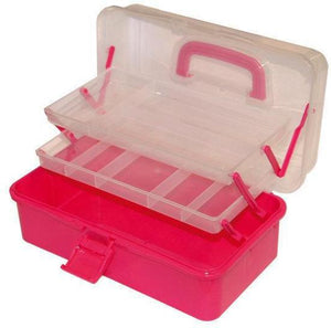 Fladen Pink Cantilever Tackle Box