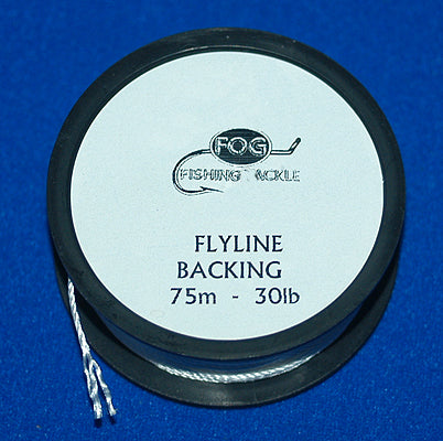 Fog fly Line Backing