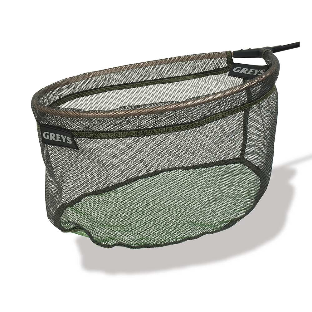 GREYS RUBBER SPOON MICRO MESH NET