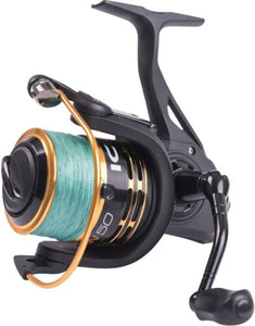 Leeda Icon 50 Spin with 20lb Braid / Spinning Fishing Reel
