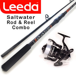 Leeda 9ft Saltwater Spin Combo Sea Rod