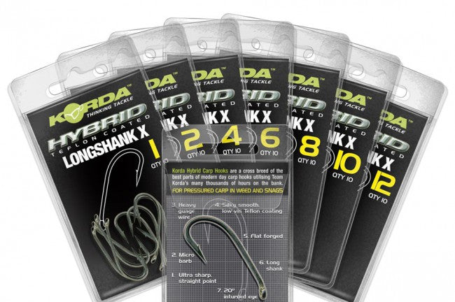 Korda longshank X Hooks-Billy's Fishing Tackle