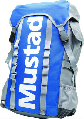 Mustad Rucksack Luggage, Grey/Blue-Billy's Fishing Tackle