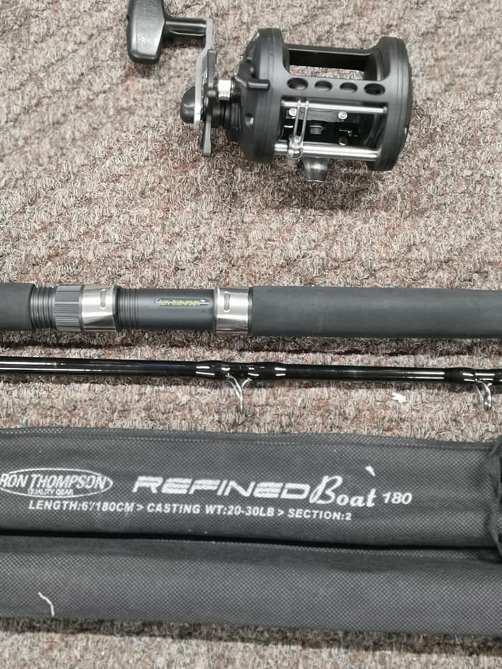 Okuma/ Ron Thompson Boat Fishing Rod Reel Combo-Billy's Fishing Tackle