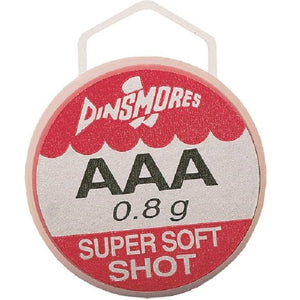 DINSMORES Soft Shot Refill Pots (Fishing Weights)