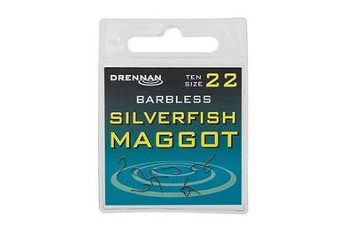 Drennan Silverfish Maggot Barbless