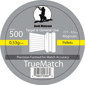 David Nickerson True Match Pellets .177
