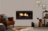 Kent Fairlight Insert Wood Heater - Metallic Black