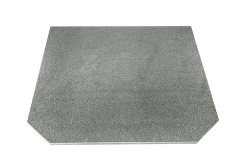 FULL SLAB, COMPOSITE STONE HEARTH IN LIGHT GREY 1.2m x 1.2m