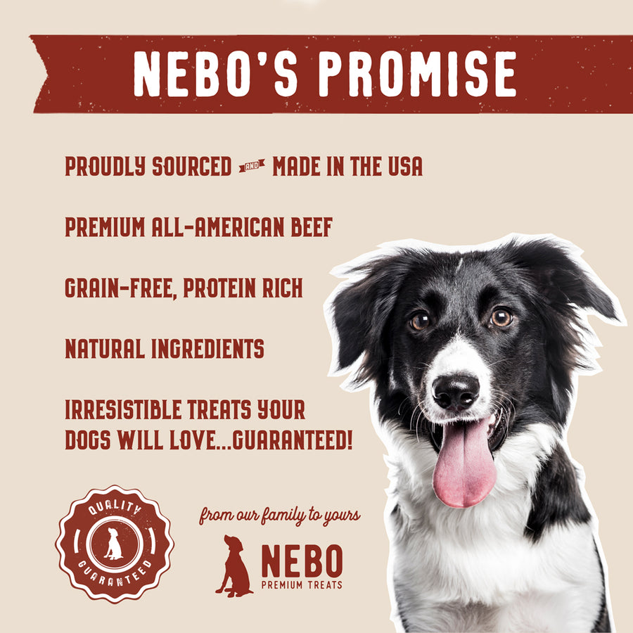 Gourmet Jerky Strips Chicken & Beef Bundle (SAVE 10%) - Nebo Dog